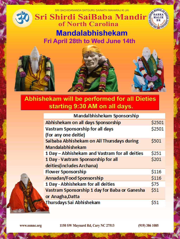 Mandalabhishekam
