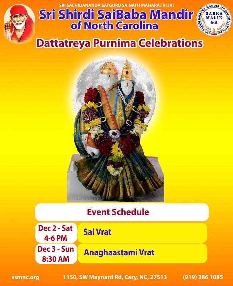 Datta Purnima Celebrations